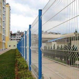 小区公园围墙护栏网 桃形柱护栏